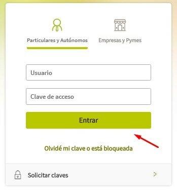 Entrar a la plataforma de Bankia sin comisiones