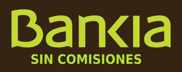 Banco Bankia sin comisiones
