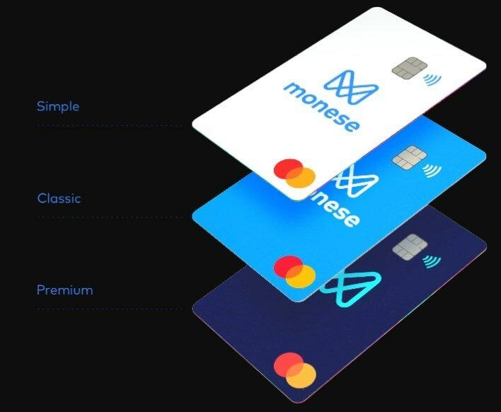 tarjeta de débito Monese