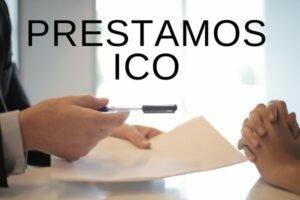 firmando un préstamo ico